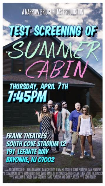 summer cabin screening