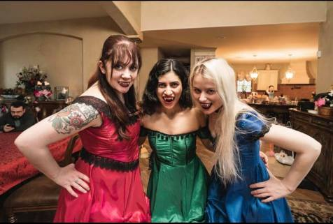 Tinea designed costumes for Monster Mash